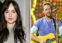 Chris Martin και Dakota Johnson