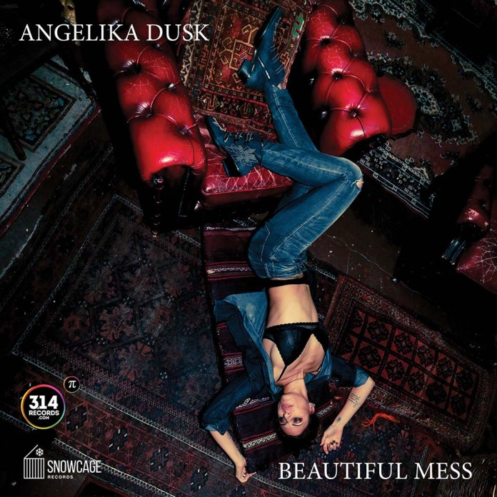 Angelika Dusk - Beautiful Mess (album cover) - Hit Channel