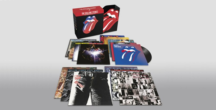 The Rolling Stones - The Studio Albums Vinyl Collection 1971-2016 - Hit Channel