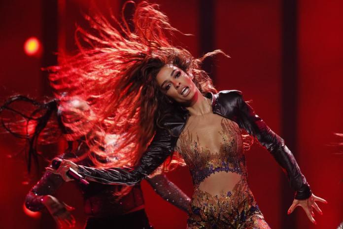 Ελένη Φουρέιρα - Eleni Foureira - Cyrpus - Eurovision 2018 - 2nd Rehearsal - Hit Channel