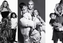 Mariah Carey - Christina Aguilera - Kanye West - kids - Harper's Bazaar - Hit Channel