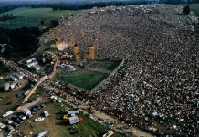 Woodstock 1969 - aerial view - Hit Channel
