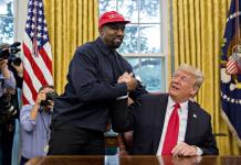 Kanye West - Donald Trump - White House