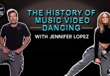 The History of Music Video Dancing - Jennifer Lopez - Jimmy Fallon - Hit Channel