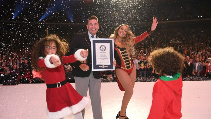 Mariah Carey - Guinness World Records - All I Want For Christmas Is You