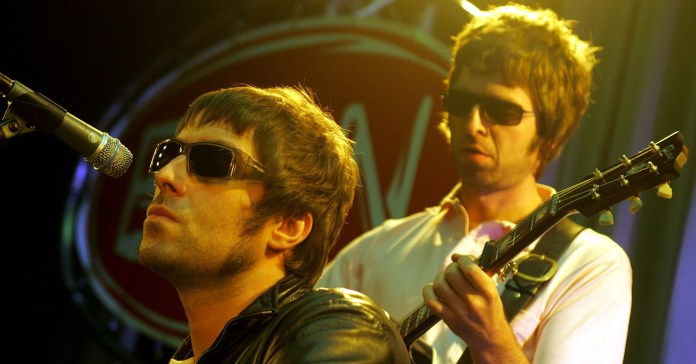Oasis - Liam - Noel Gallagher