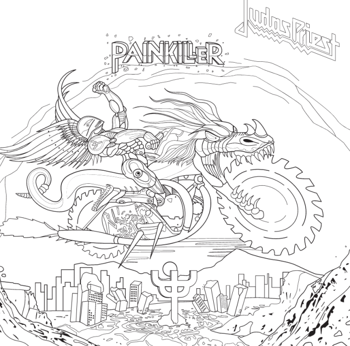 Judas Priest - Painkiller - The Coloring Sessions