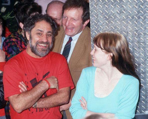 Abbie Hoffman et Amy Carter pendant I Spy Ball - 27 mars 1987 au Saint à New York, New York, États-Unis. (Photo de Ron Galella, Ltd./Ron Galella Collection via Getty Images)