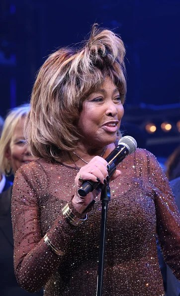 NEW YORK, NY - NOVEMBER 07:  Tina Turner during the
