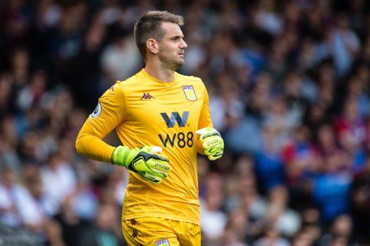 Report: Championship interest in Aston Villa goalkeeper ...