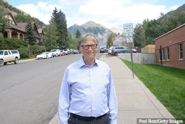 "Bill Gates assiste au Telluride Film Festival 2019 le 31 août 2019 à Telluride, Colorado. ""Width ="" 640 ""height ="" 428 ""> <strong style="