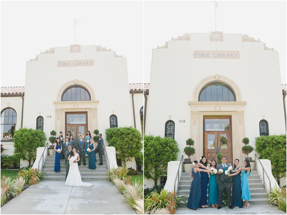 Redondo Beach Historic Library Wedding  Lisa and
