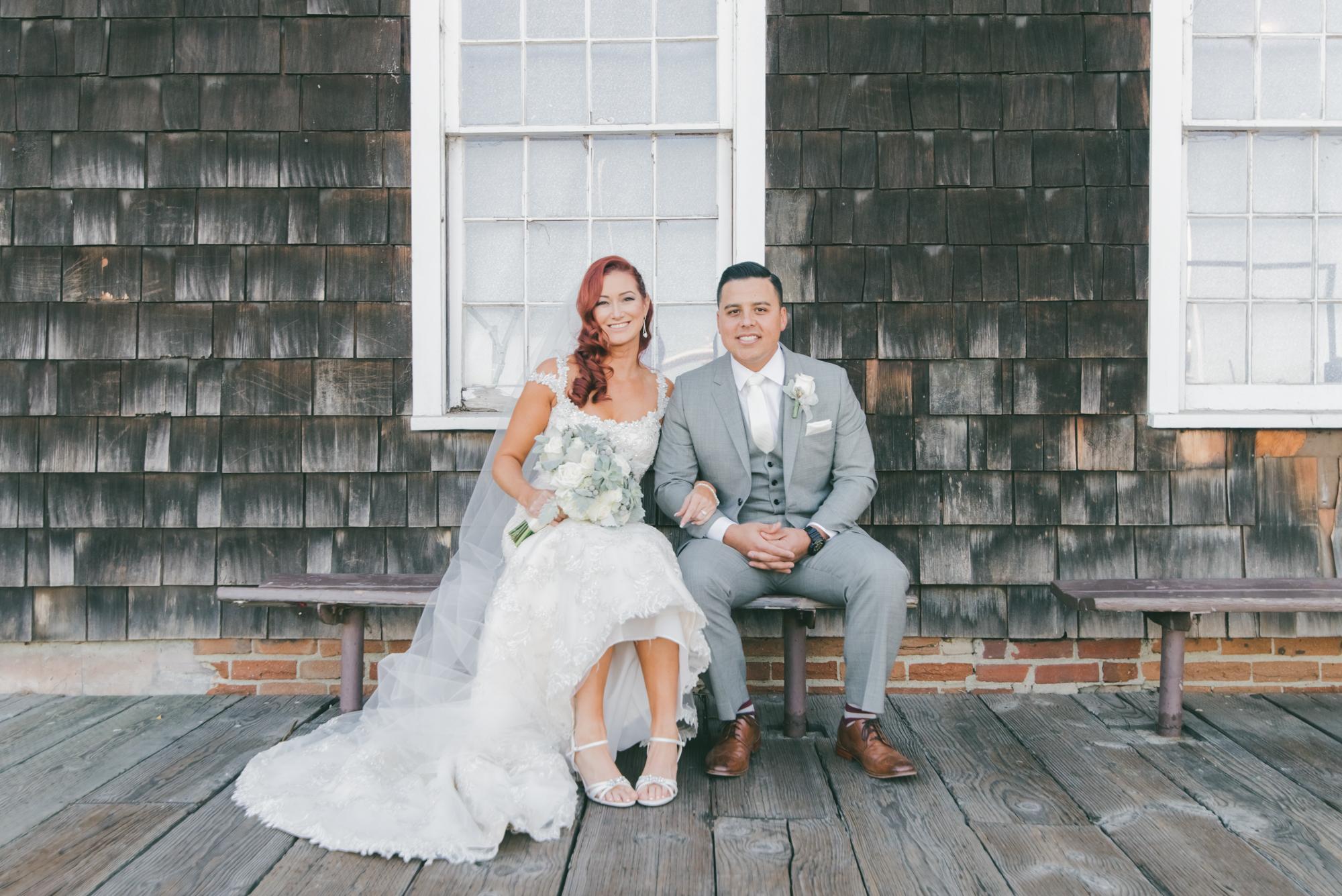 Josh Jessica Ports O Call Restaurant Wedding San