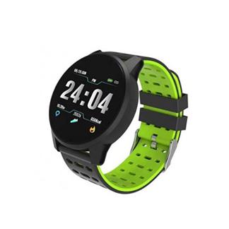 Smart Watch Astrum Band Ip67 Hr Bp Bo 3Axis 1.3Inch Sw200 Black+Green