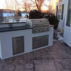 Custom Outdoor Kitchens Kitchen Island Stool Matches The House  Hi Tech Appliance