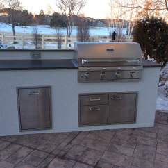 Custom Outdoor Kitchens Kitchen Lights Over Island Matches The House  Hi Tech Appliance