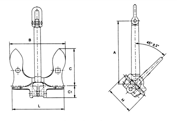 Marine Baldt Type Stockless Anchor Factory and