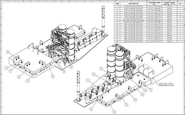 Plant Design Services: Plant 3D Modeling, P&ID Drafting