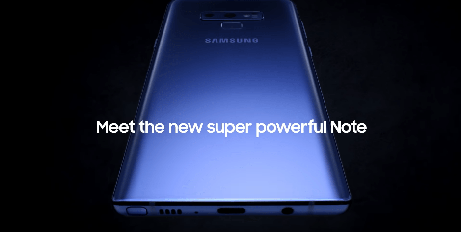 Samsung Galaxy Note9 intro video leak reveals up to 1TB storage, powerful battery life | Hitech Century