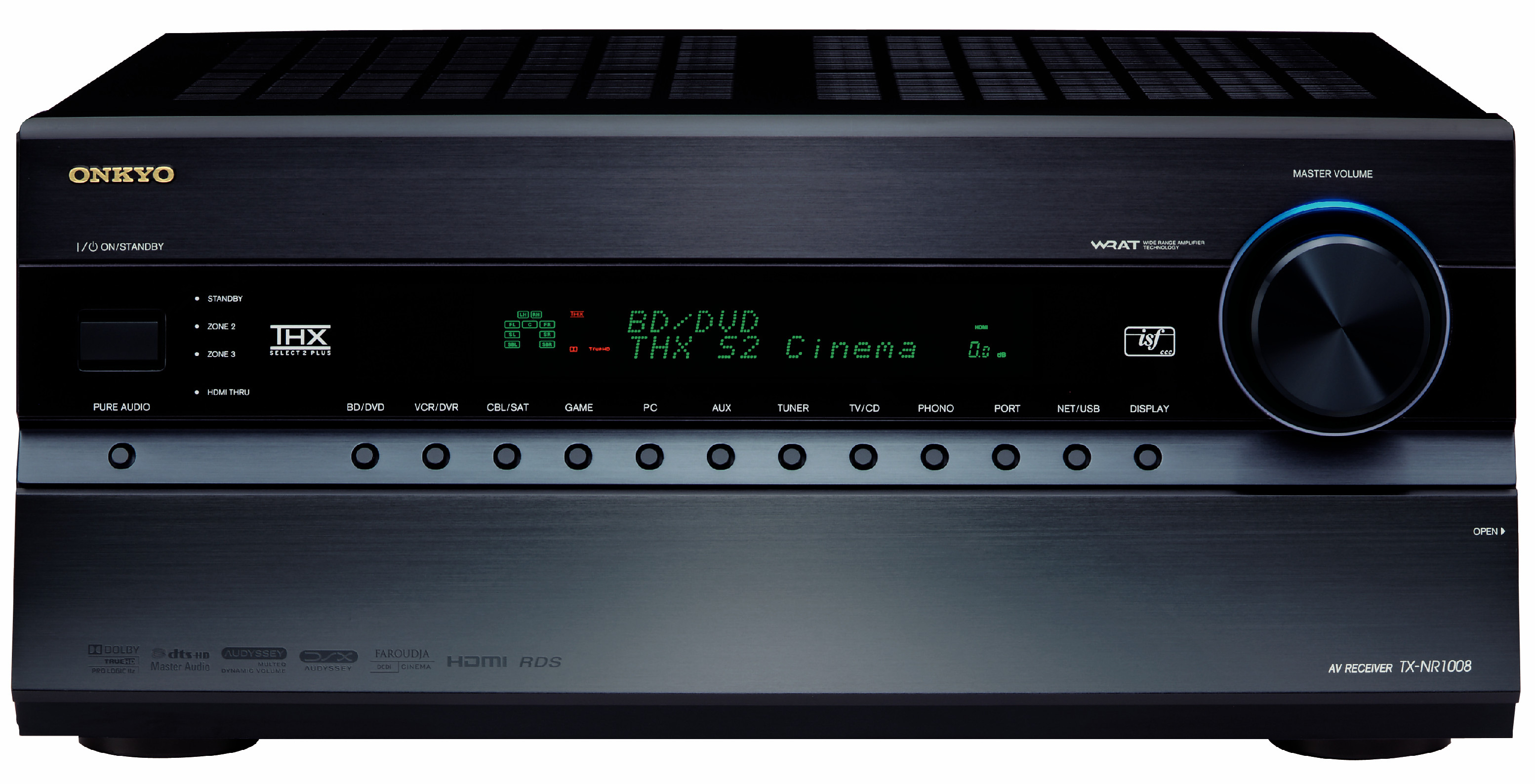 Onkyo launches three new 3D and iPod compatible Network