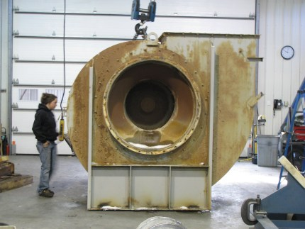 400 HP Industrial Fan