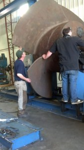 Large Rotator Balancing
