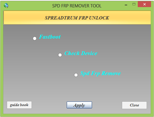 Spd Frp Remover Tool 2019