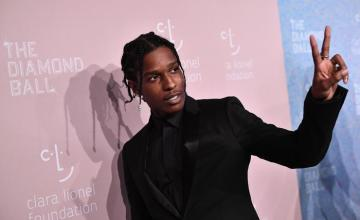 A$AP Rocky Confused For Travis Scott At Pre-Grammy Party