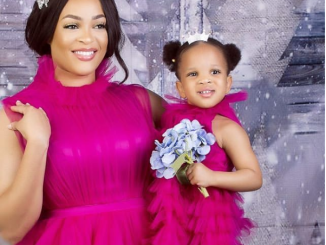 [PHOTOS] Adaeze Yobo Releases Adorable New Photos With Her Daughter Lexine As She Clocks 2 3