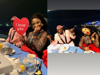 Did Tonto Dikeh Just Show Off Her New Man