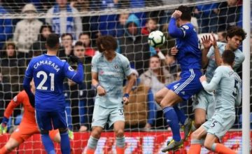 [Goals Highlight] Cardiff 1 – 2 Chelsea (Watch Here)