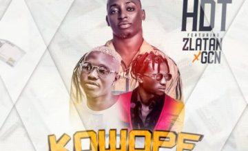 "[AUDIO + Video]HDT – ""Kowope"" f. Zlatan & GCN"