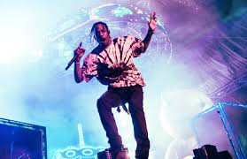Travis Scott Shows Support For A$AP Rocky At Wireless Fest Free Rocky
