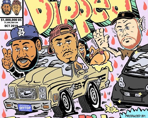 """The Cool Kids – """"Dipped"""" (prod. Kenny Beats)"""