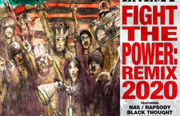 MP3: Public Enemy Ft. Nas, YG, Rapsody, Black Thought, Jahi & Questlove – Fight The Power: Remix 2020