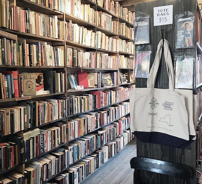 ビーコンにある本屋