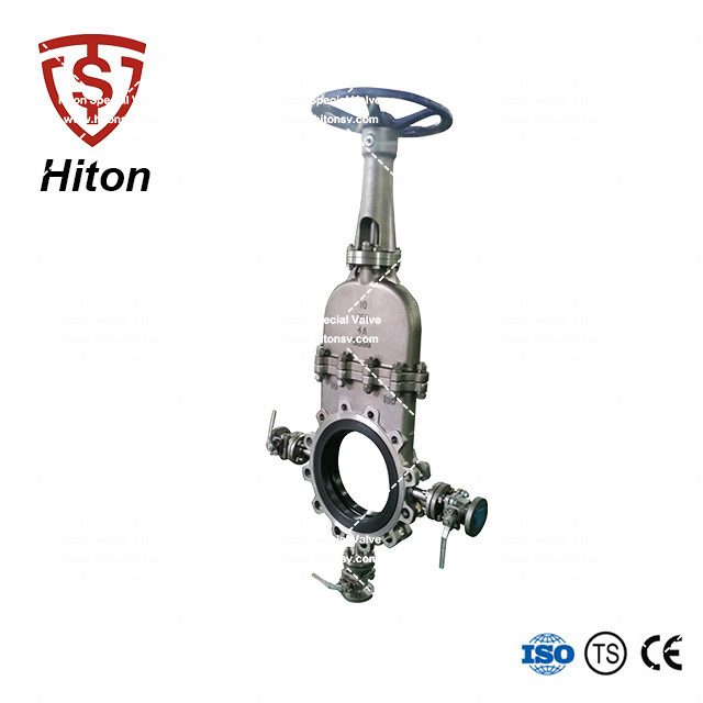 Manual Stainless Bonneted Knife Valve-products-V-port Ball