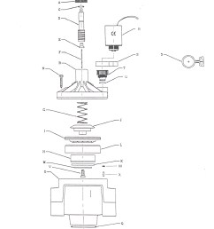 valve assembly drawings 100 series 1 inch flow control  [ 1178 x 1524 Pixel ]
