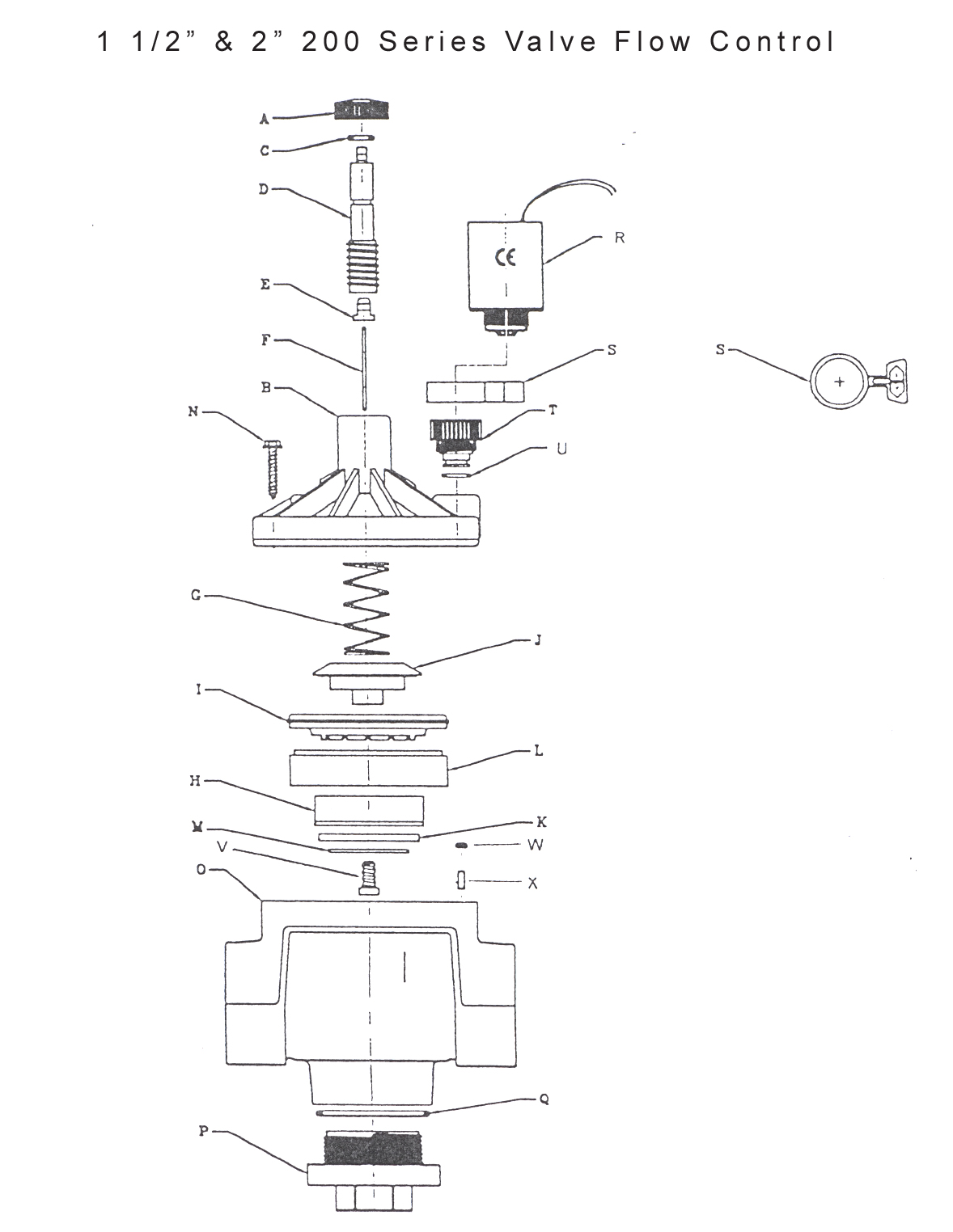 hight resolution of valve assembly drawings 100 series 1 inch flow control