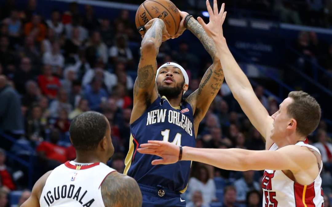 Pelicans hold of Heat 110-104