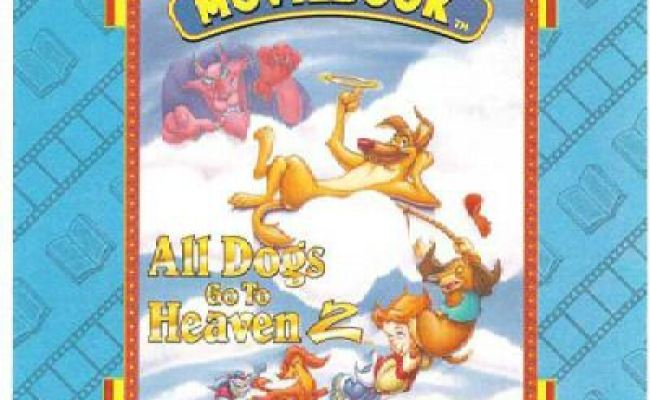 All Dogs Go To Heaven 2 Animated Moviebook Pc Cd Animated