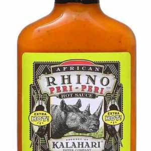 African Rhino Mild Peri-Peri Pepper Sauce
