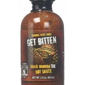 Cajohn's Get Bitten Black Mamba 6 Hot Sauce