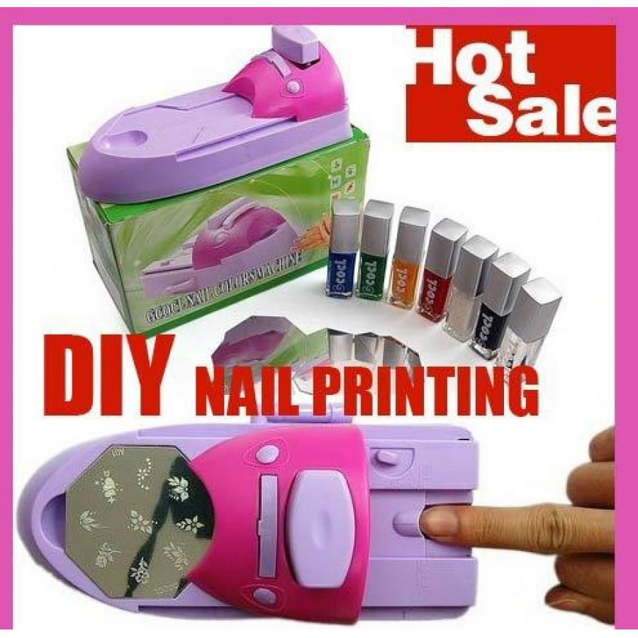 Diy Nail Art St Printing Machine
