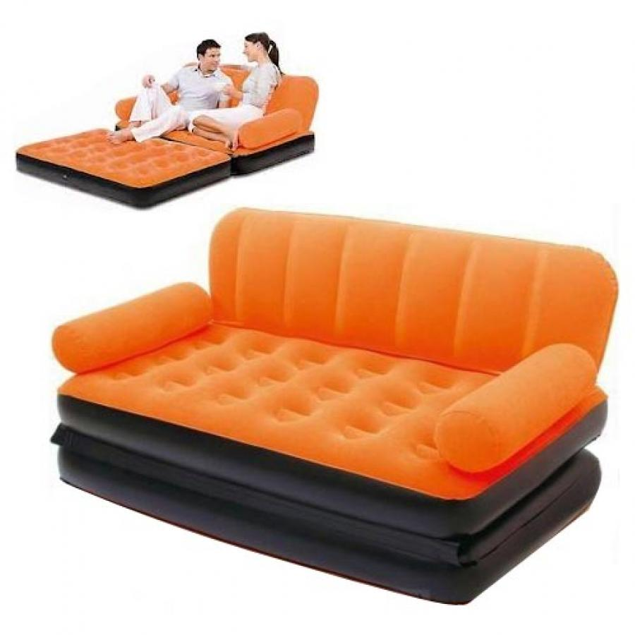 intex sofa inflatable refurbished sofas manchester coloring lounge air bed 5 in 1 with pump ...