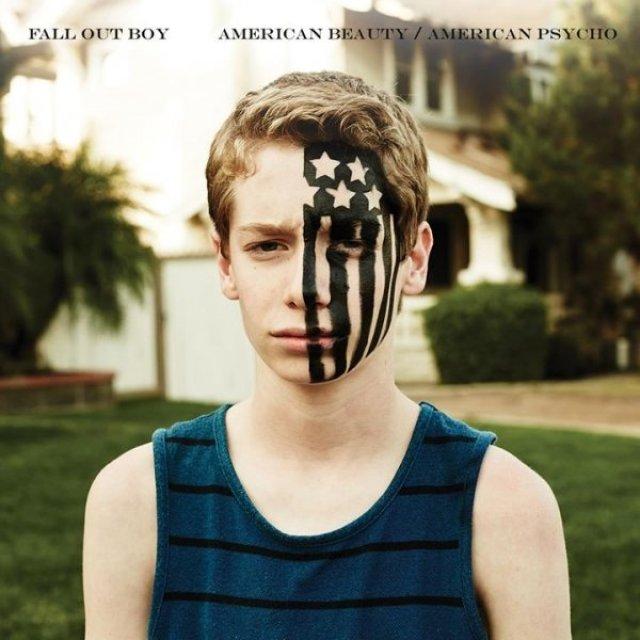 Afbeeldingsresultaat voor Fall Out Boy - American Beauty/American Psycho
