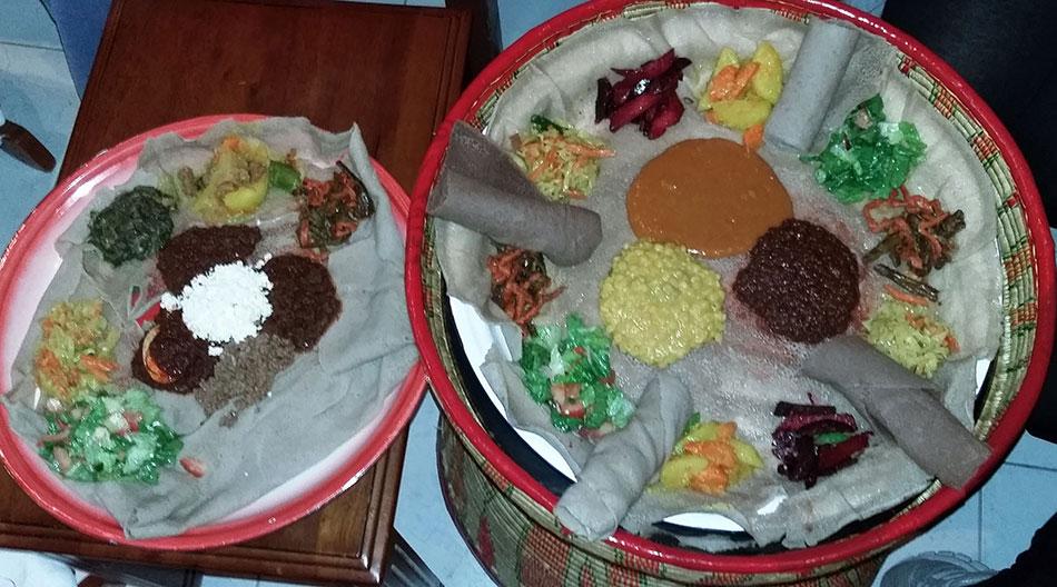Restaurant éthiopien à Dubaï aux Emirats Arabes Unis