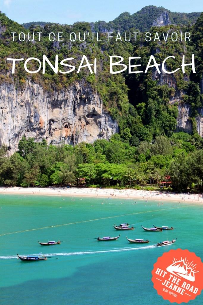 Tout ce qu'il faut savoir sur la plage de Tonsai