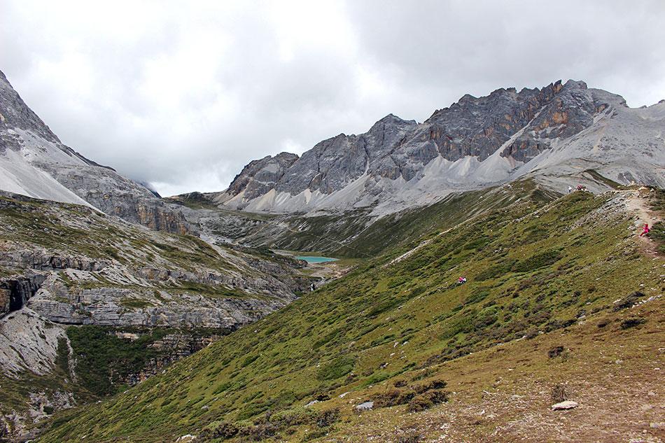 Attention de ne pas souffrir du mal d'altitude dans la réserve de Yading dans le Sichuan en Chine.