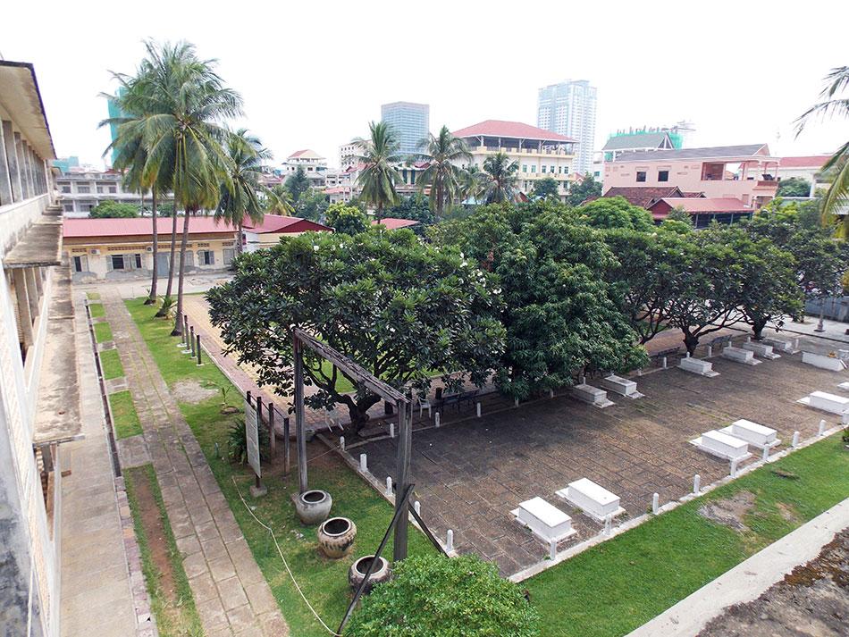 Prison de Tuol Sleng et le musée du génocide à Phnom Penh